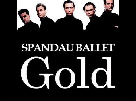 gold best of spandau ballet gold spandau ballet instrumental karaoke