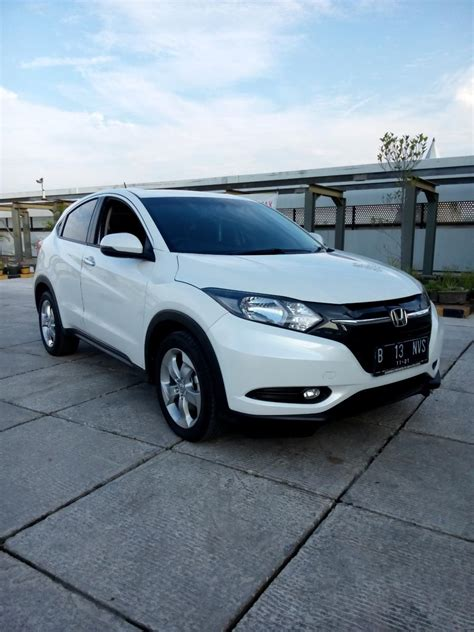 Mobil Honda Hrv 1 5 E Cvt hr v honda hrv 1 5 e cvt matic putih 2016 km 700