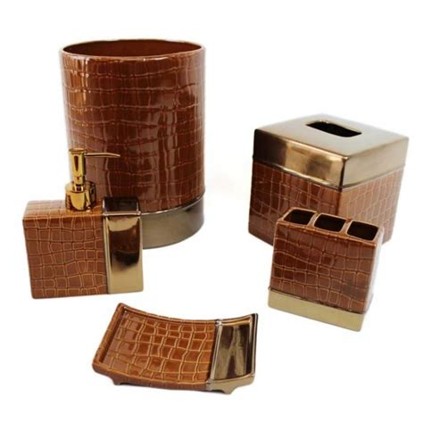 brown bathroom set 10 creative brown bathroom sets rilane
