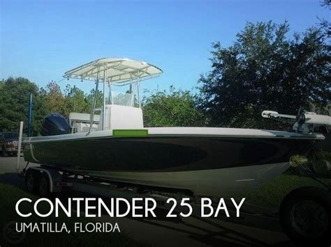 contender boats for sale no motors contender 25 bay boats for sale