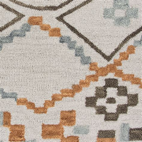Wool Runner Rugs Lancaster Abstract Pixel Wool Runner Rug In Gray 2 6 Quot X 8