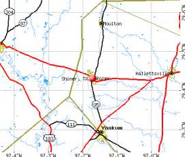 shiner map shiner tx 77984 profile population maps real