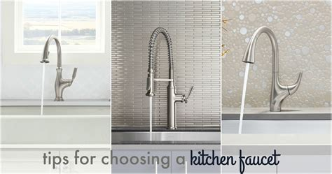Choosing A Kitchen Faucet by Choosing A Kitchen Faucet Christinas Adventures