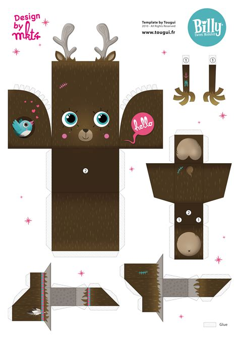 Paper Craft Toys - 1000 images about armables on paper toys