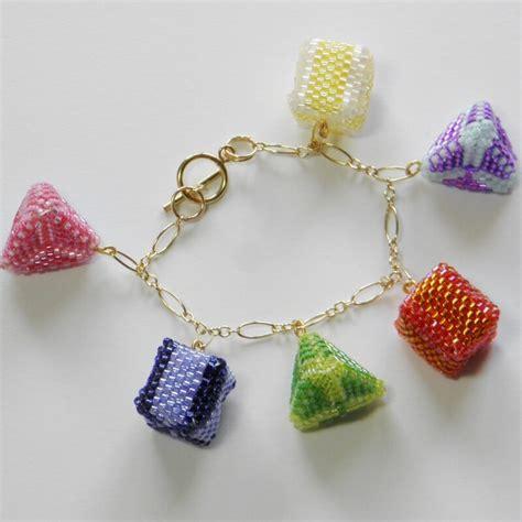 3d beading 3d peyote charm bracelet pattern beadflowers dean