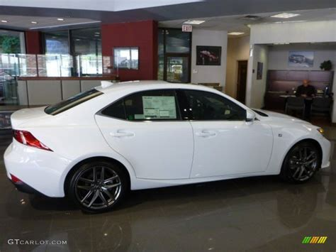 white lexus is 250 ultra white 2014 lexus is 250 f sport awd exterior photo