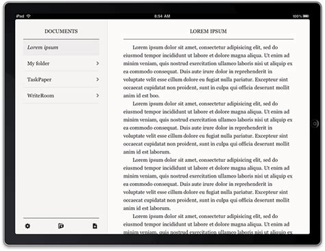 Write Room by Writeroom Updated As Universal App For Iphone And Imore