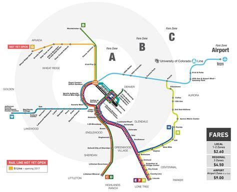 denver light rail expansion map light rail denver map my blog