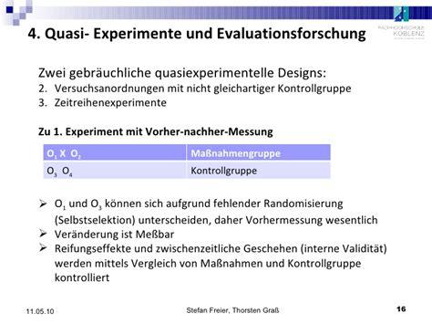 mit experimental design experimentelle und quasiexperimentelle designs 30 04 09