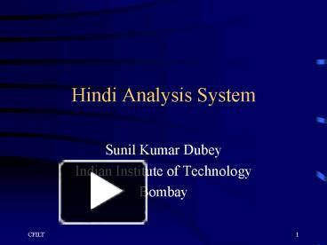 powerpoint tutorial hindi ppt hindi analysis system powerpoint presentation free