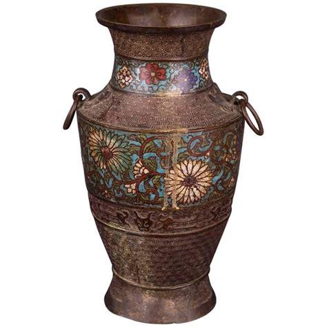 Japanese Porcelain Vases 20th Century Antique Chinese Cloisonn 233 Bronze Vase For
