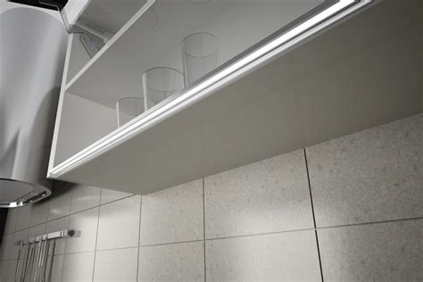 Domus Line Led Lighting Profiles By Access Group Selector Led Cabinet Lighting Installation
