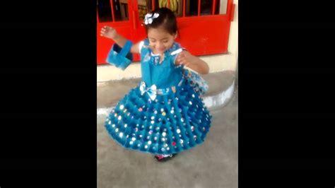 vestido con material reciclado vestido de reciclaje youtube