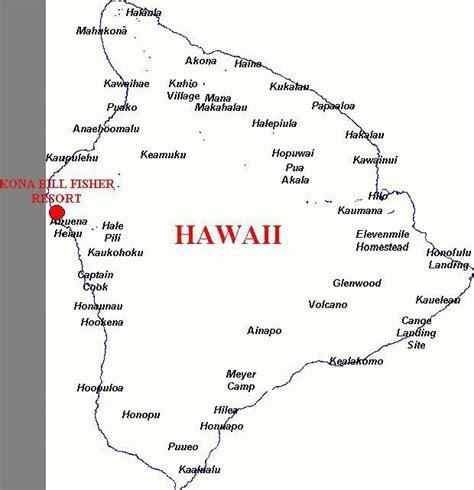Search Hawaii Hawaii City Map Of The Hawaiian Island Of Hawaii The Big Autos Post