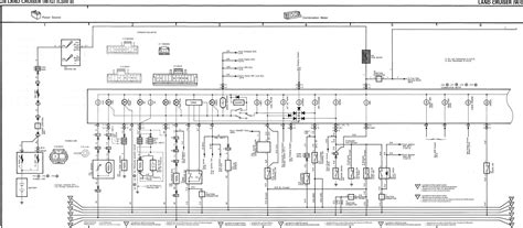 toyota landcruiser 80 series wiring diagram 80 series