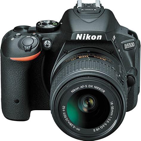 Nikon D5500 Black Af S 18 55mm Vr Ii Sandisk 8gb Screen Guard nikon d5500 18 55mm vr ii 55 200mm vr ii kit must dslrs nordic digital