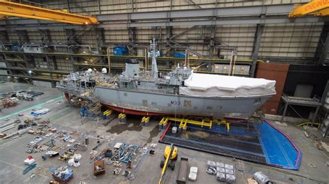 ship maintenance ads advance bae systems begins maintenance at small