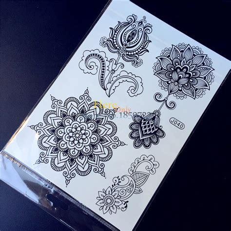 henna tattoo prijs kopen wholesale lotus tattoos uit china lotus
