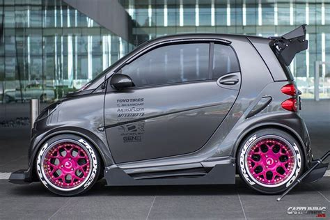 stanced smart car stanced smart 187 cartuning best car tuning photos from