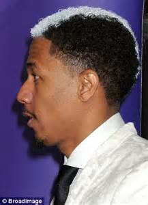 Skunk Hairstyle by Nick Cannon Shows New Skunk Hairstyle A Week After