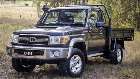 toyota land cruiser 70 toyota landcruiser 70 series gets stability and traction