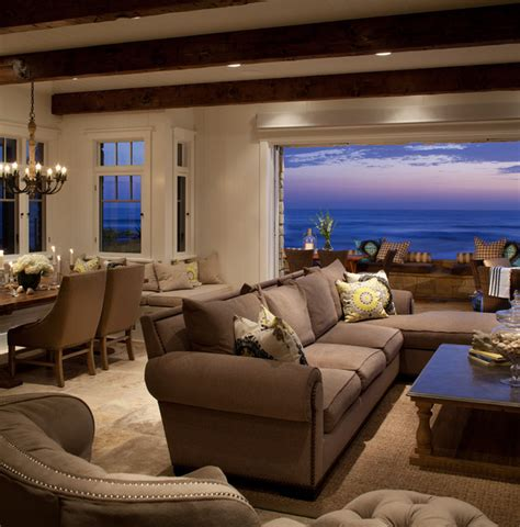 Living Room San Diego | transitional beach house beach style living room san
