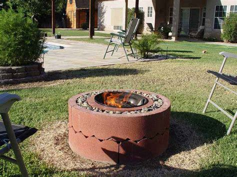 how to make an outdoor firepit 38 easy and diy pit ideas amazing diy interior