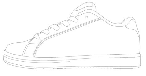 show template to use for school shoes classroom pete
