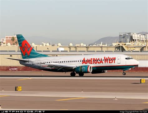 n160aw boeing 737 3g7 america west airlines jetphotos