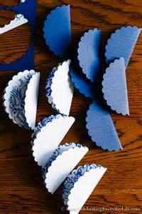 diy paper christmas ornament tutorial celebrating