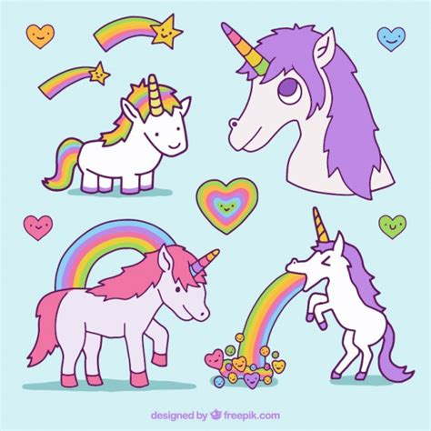 imagenes unicornios gratis desenhadas m 227 o unic 243 rnios agrad 225 veis baixar vetores gr 225 tis