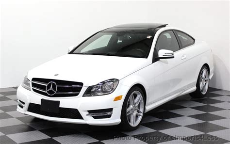 2014 Mercedes C350 Coupe by 2014 Used Mercedes Certified C350 4matic Awd Coupe