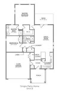 patio home floor plans for cabin floor plans best open
