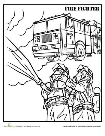 firefighter coloring page coloring pages coloring and