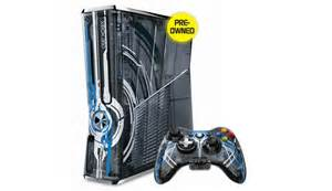 Xbox 360 320gb limited edition halo 4 console preowned vgwc warranty