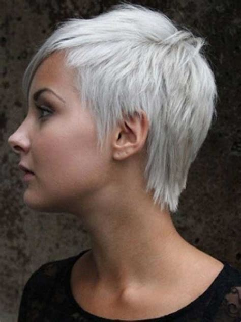 Super Short Asymmetrical Pixie Cut Pinterest | 1000 images about hair designs on pinterest short