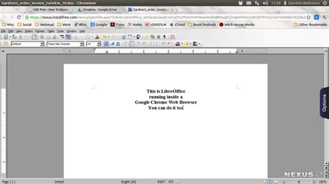 Can Chromebooks Run Office by How To Run Libreoffice On A Chromebook How N About