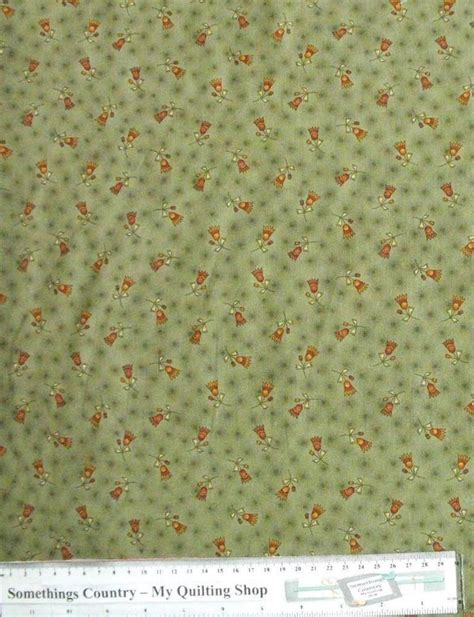 Patchwork And Quilting Fabrics Uk - patchwork quilting fabric green with flower