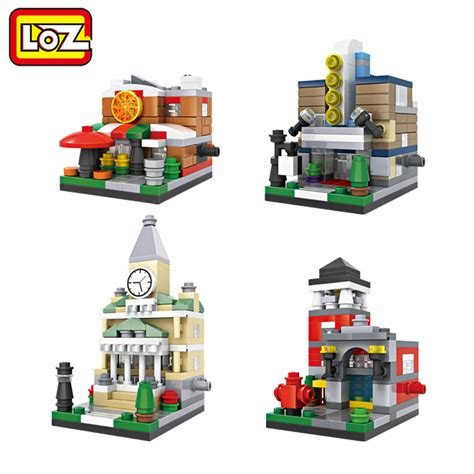 Lego Loz Doraemon Mini Blocks aliexpress buy loz mini blocks mini town pizza shop department theater