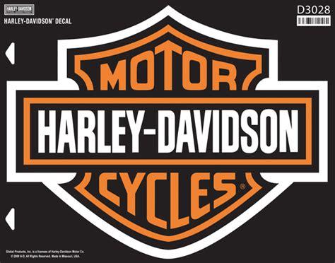 D3028   Harley Davidson® B&S 4X Decal   Barnett Harley Davidson®