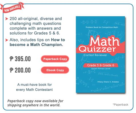 math challenge questions grade 6 national mtap challenge