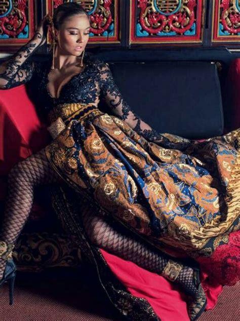 Dress Nagita Batik Pekalongan 54 best images about kebaya indo on modern ux