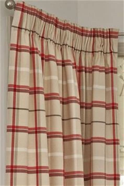 next red check curtains curtains on pinterest pencil curtains and curtain designs