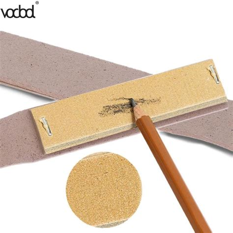 Voddol Professional Wooden Paper Sandpaper Block Art