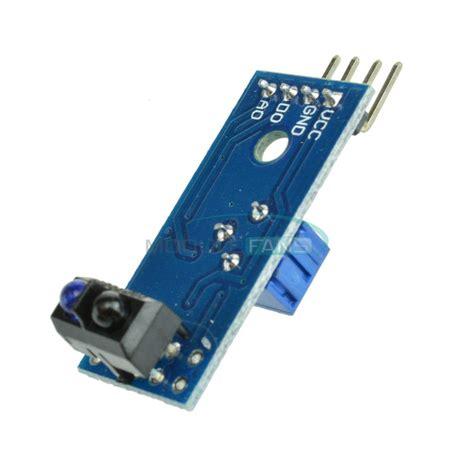 Ir Reflective Line Tracking Tracing Module Tcrt5000 10pcs tcrt5000 infrared reflective ir photoelectric switch