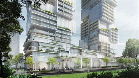 buro ole scheeren iconic towers by renowned german architect proposed