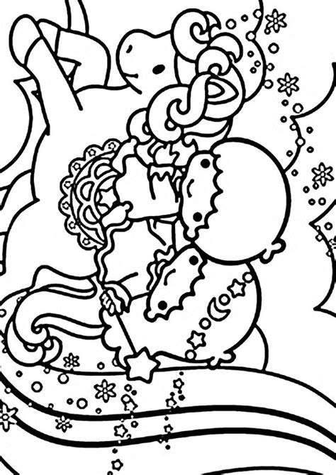 coloring pages my little kitty hello kitty characters coloring pages sanrio characters