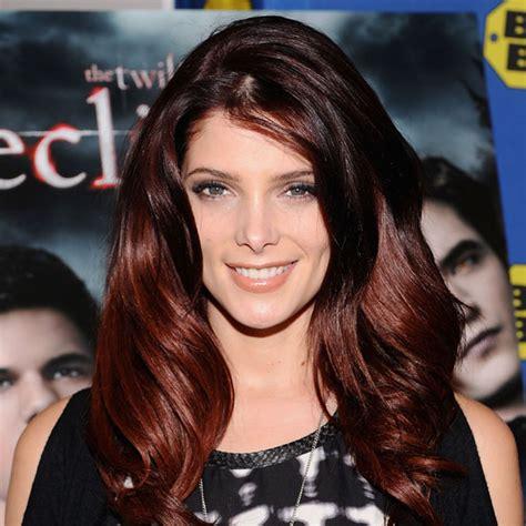 ashley greene with beautiful ombre auburn highlights ombre hair pinterest red hair