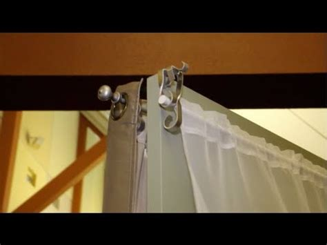 easiest way to hang curtains the easiest way to hang curtains new invention the