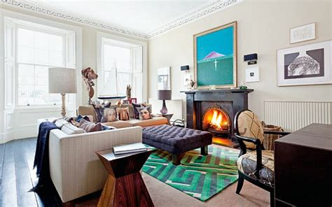 livingroom edinburgh interiors inside a vibrant edinburgh townhouse telegraph